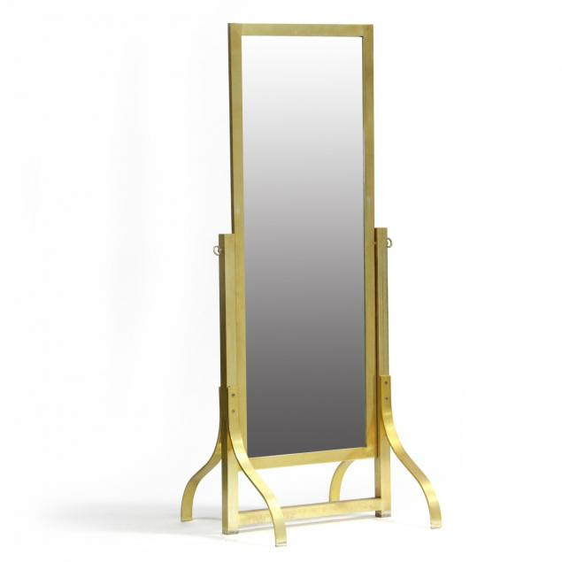 modernist-gilt-cheval-mirror