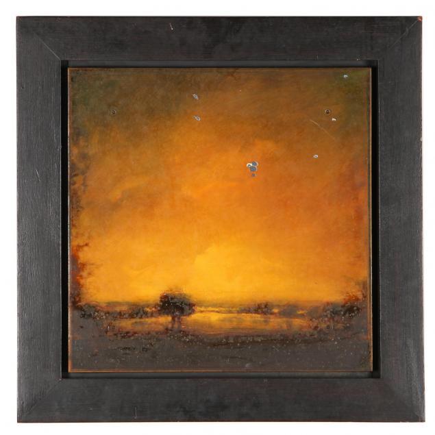 david-bierk-canadian-1944-2002-i-landscape-on-steel-study-21-i