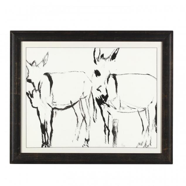 mirjam-verhoeff-netherlands-20th-21st-i-donkeys-i