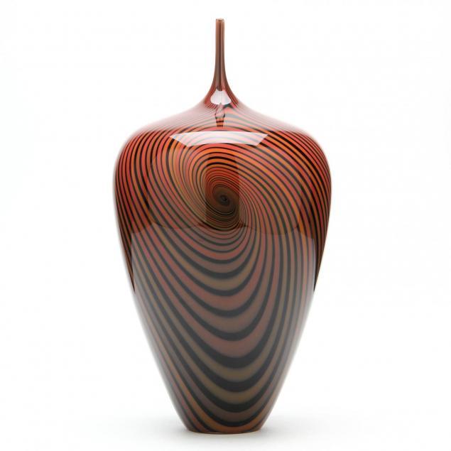 jeff-holmwood-vancouver-canada-vortex-art-glass-vase