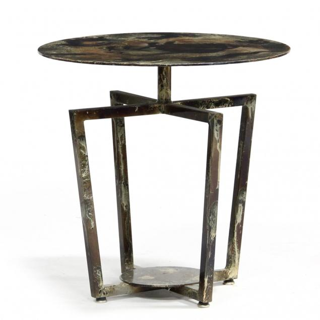 custom-steel-side-table