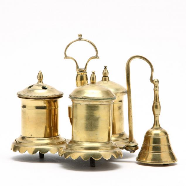 antique-dutch-brass-standish