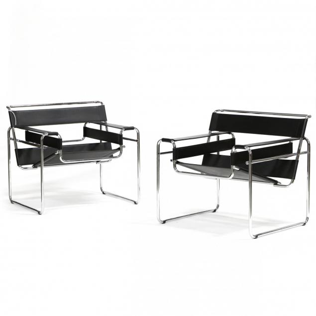 pair-of-wassily-chairs-after-marcel-breuer