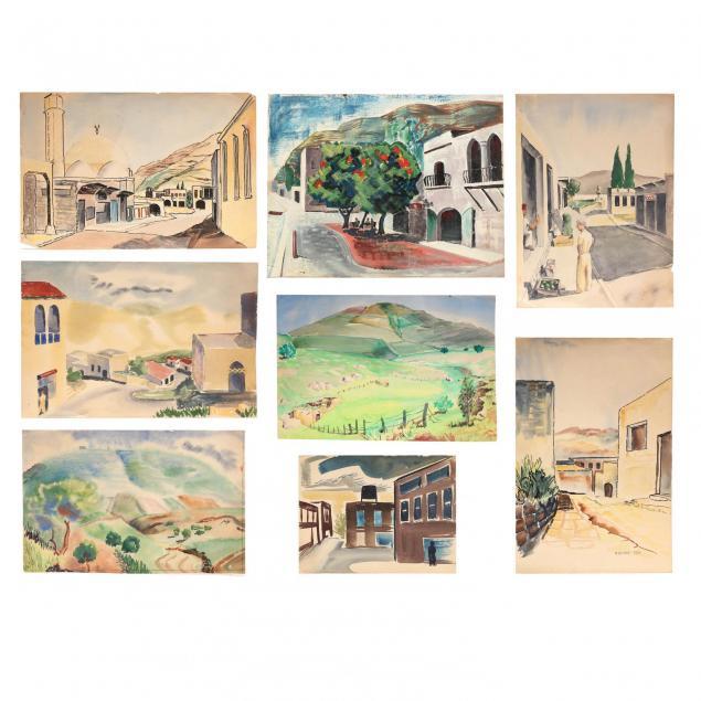 ben-rouzie-eight-unframed-original-works