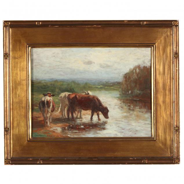 william-howe-ny-ct-oh-1844-1929-cattle-watering