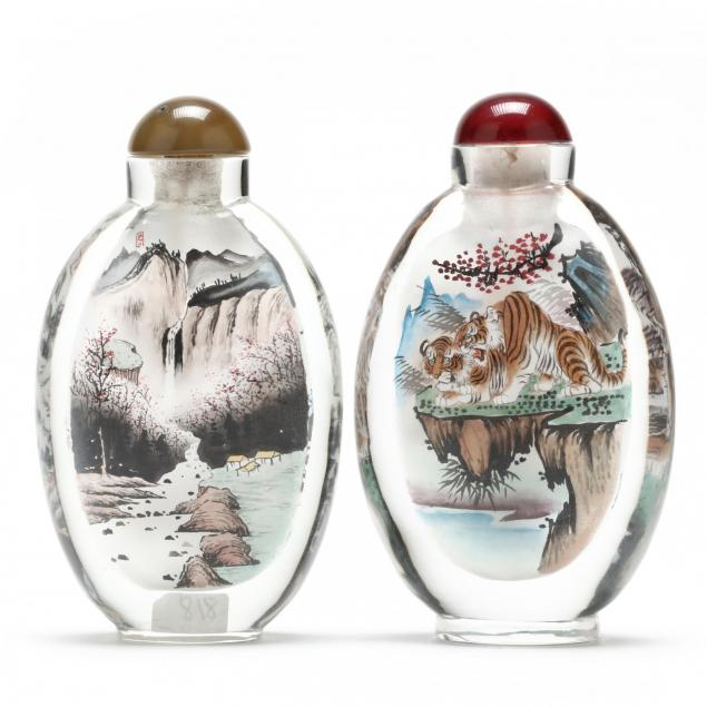 two-large-reverse-painted-snuff-bottles