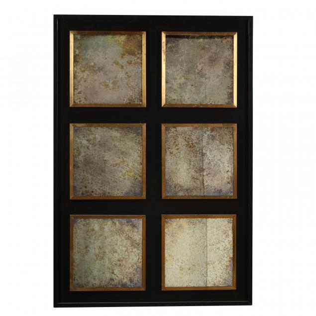 contemporary-six-panel-mirror
