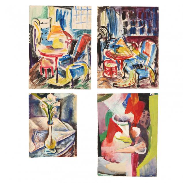 beulah-stevenson-ny-1890-1965-four-still-lifes-and-interior-views