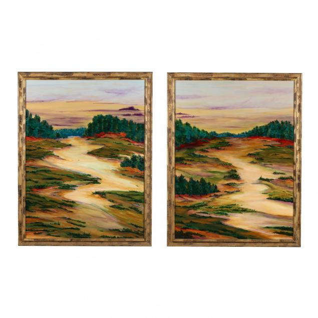 nancy-tuttle-may-nc-i-italian-landscape-i-diptych