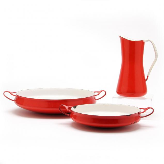 jens-quistgaard-three-enamel-wares-for-dansk
