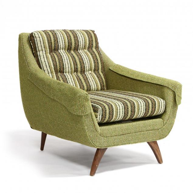 bassett-furniture-mid-century-club-chair