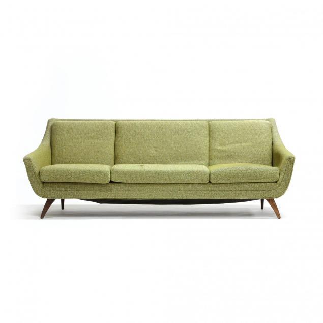 bassett-furniture-mid-century-sofa