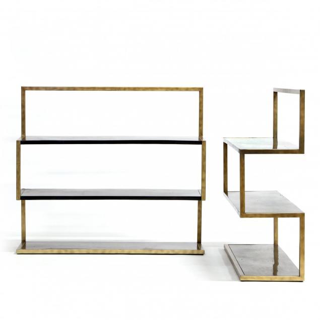 dwell-studio-for-precedent-pair-of-modernist-cantilevered-bookshelves