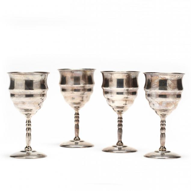 set-of-four-sterling-silver-goblets