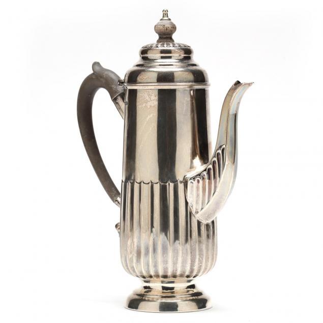 victorian-silver-coffee-pot
