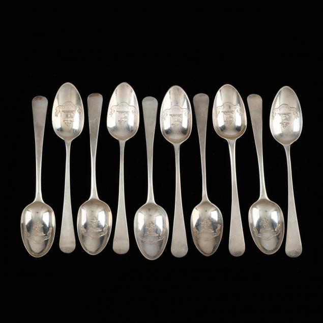 assembled-set-of-georgian-silver-tea-spoons
