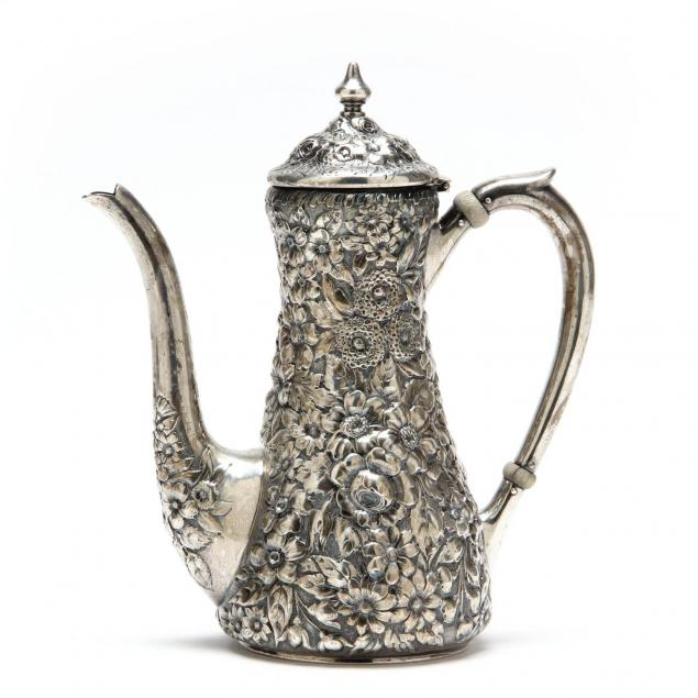 durgin-repousse-sterling-silver-demitasse-pot