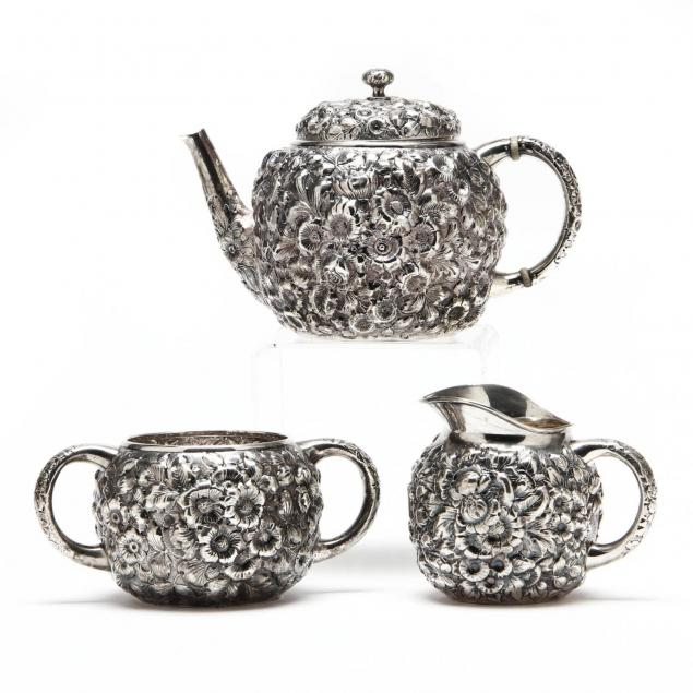 a-repousse-sterling-silver-tea-set-by-george-w-shiebler-co