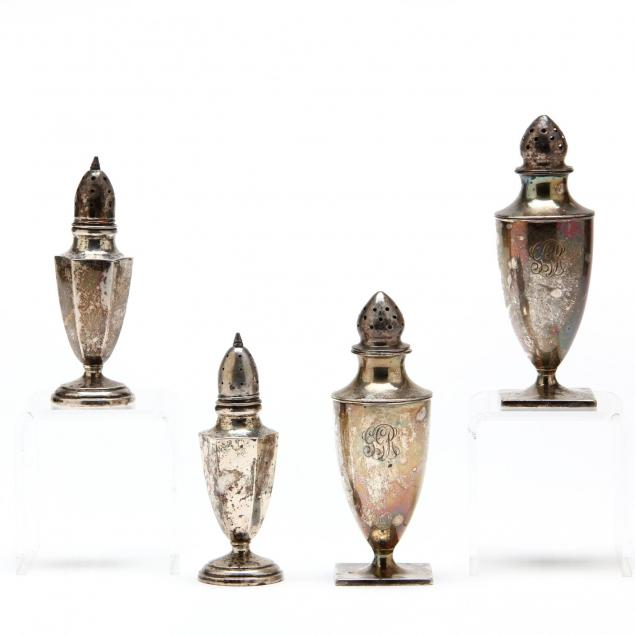 two-pairs-of-sterling-silver-shakers