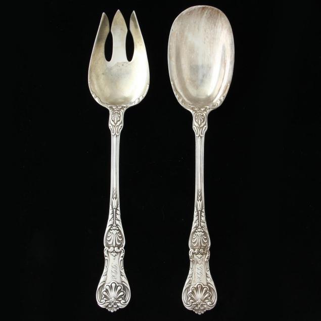 gorham-king-george-sterling-silver-large-serving-set