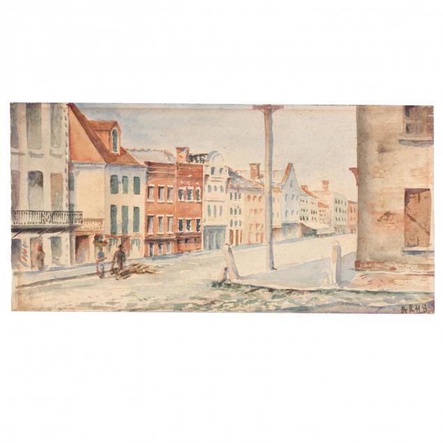 alice-ravenel-huger-smith-sc-1876-1958-i-east-bay-corner-of-tradd-charleston-sc-i