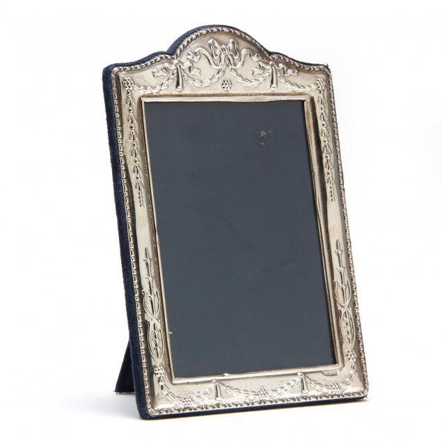 an-elizabeth-ii-sterling-silver-picture-frame