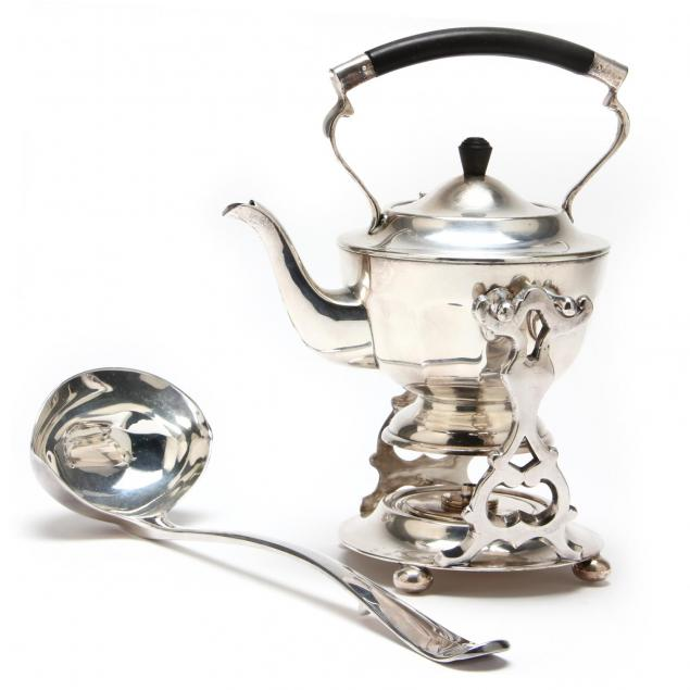 a-silverplate-spirit-kettle-and-soup-ladle