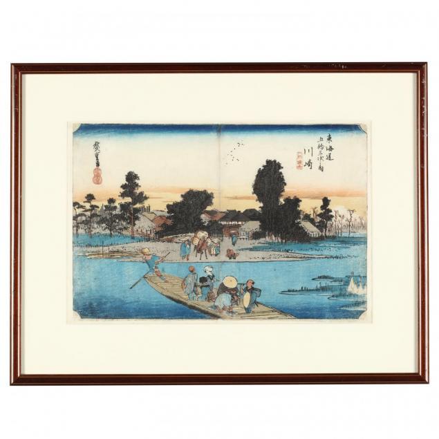 i-ferry-at-rokugo-kawasaki-i-by-utagawa-hiroshige-1797-1858