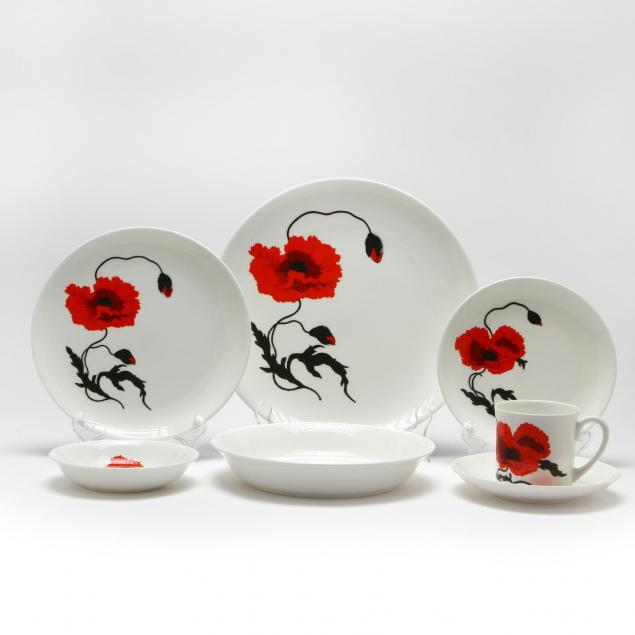 susie-cooper-for-wedgwood-corn-poppy-pattern-dinner-service
