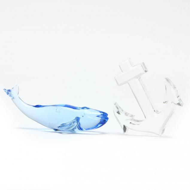 baccarat-crystal-blue-whale-and-anchor