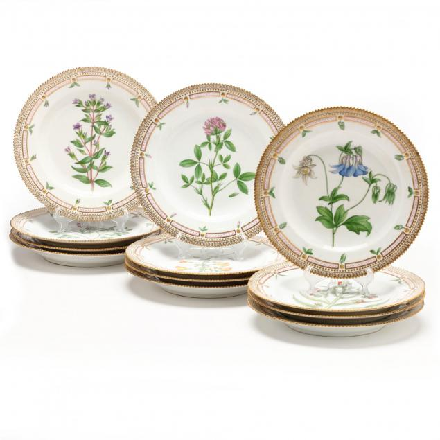 set-of-twelve-royal-copenhagen-plates-flora-danica