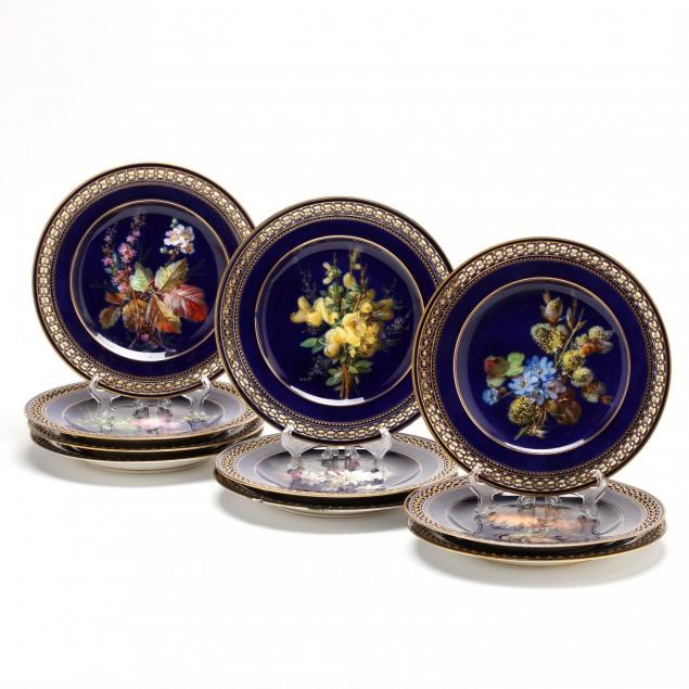 set-of-ten-meissen-cabinet-plates