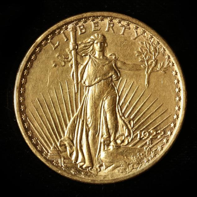1922-st-gaudens-20-gold-double-eagle-removed-from-mount