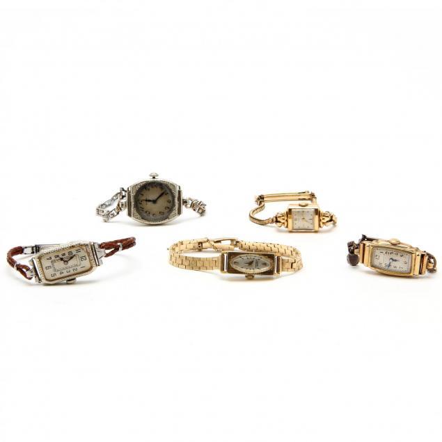 five-vintage-ladies-watches
