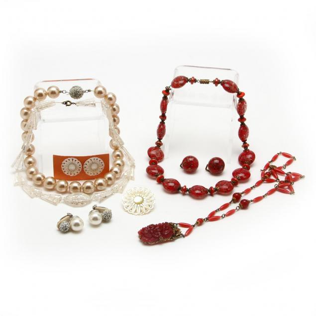 three-jewelry-sets-and-two-czech-necklaces