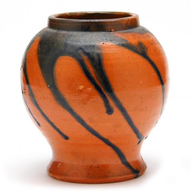attributed-to-north-state-bulbous-vase