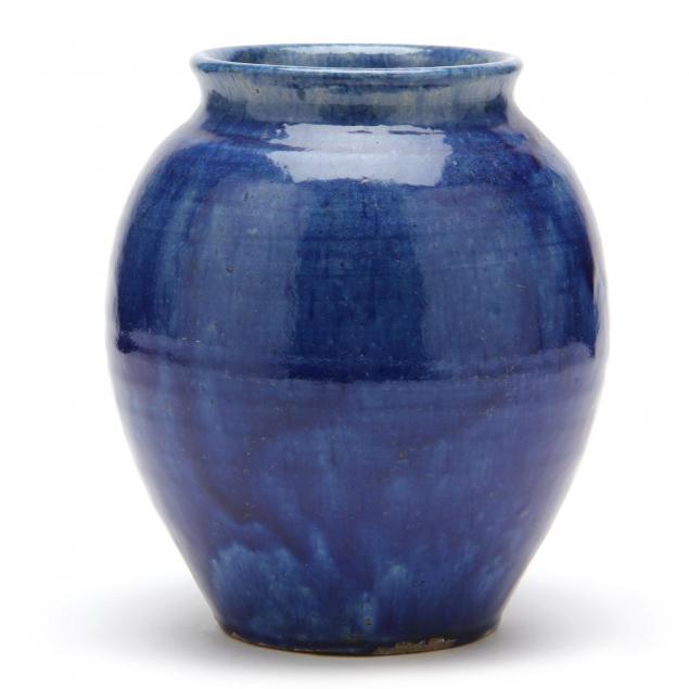 log-cabin-pottery-vase
