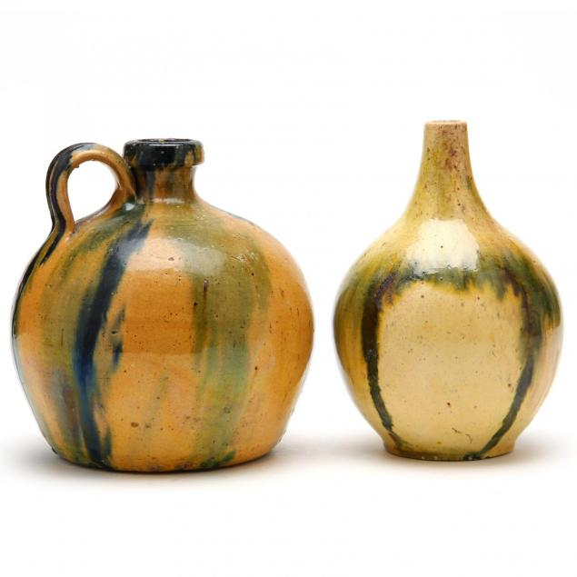 c-r-auman-pottery-two-vessels