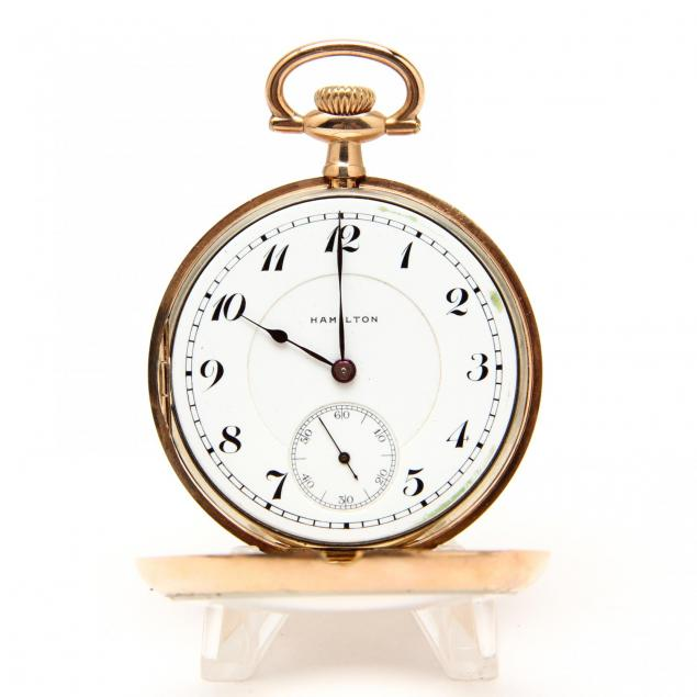 hamilton-gold-filled-pocket-watch