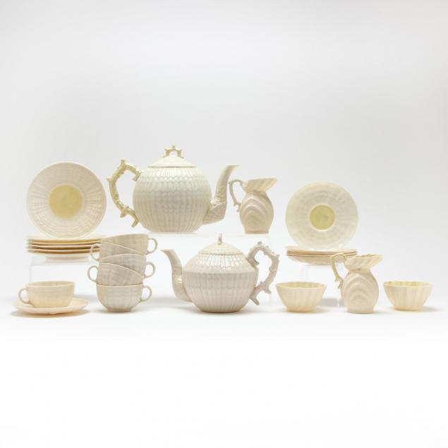 belleek-two-partial-tea-sets
