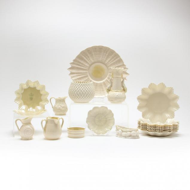 large-group-of-belleek-porcelain