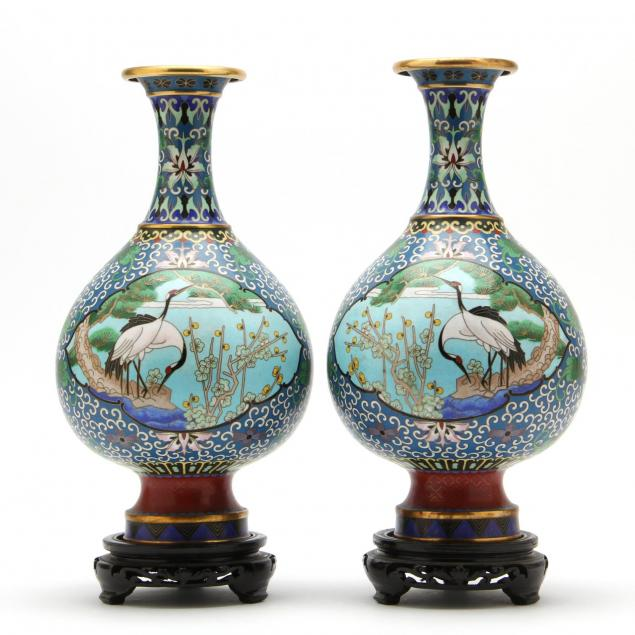 pair-of-chinese-cloisonne-vases