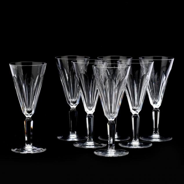 waterford-crystal-set-of-seven-champagne-flutes