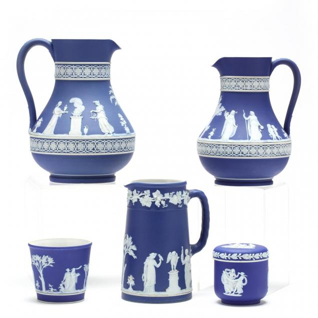 group-of-19th-century-wedgwood