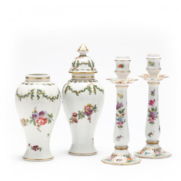 pair-of-dresden-candlesticks-and-samson-urns
