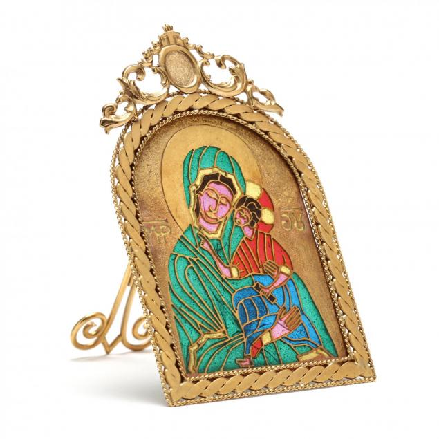 russian-gold-and-plique-a-jour-icon