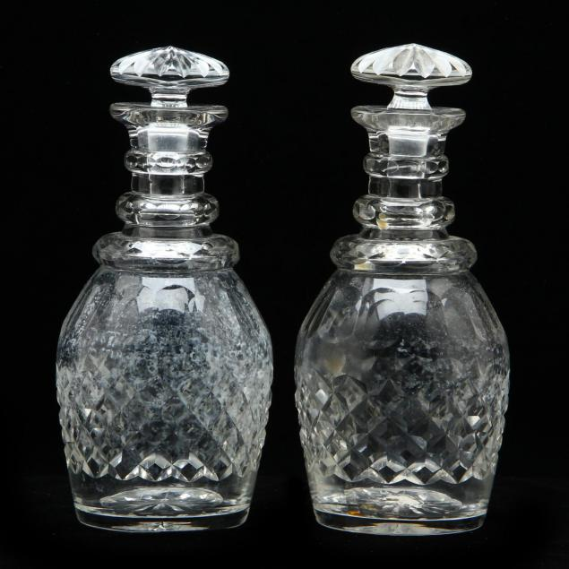 pair-of-antique-cut-glass-decanters