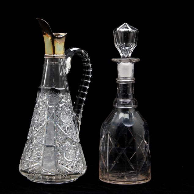 cut-glass-decanter-and-ewer