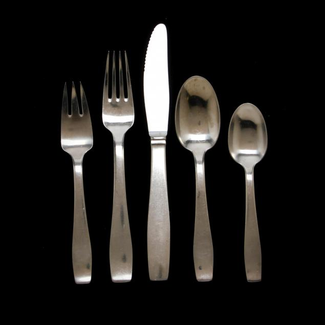 mid-century-stainless-steel-flatware-georg-jensen-and-gense-sweden