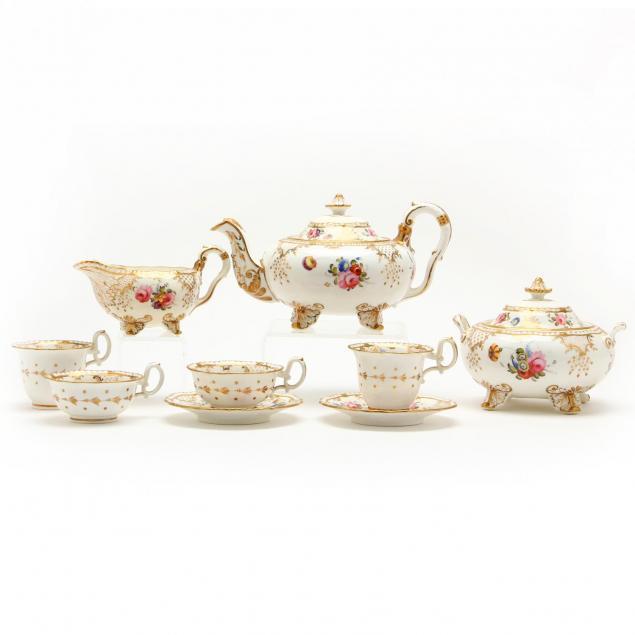 19th-century-porcelain-tea-service